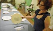 Kuratorin Christelle Wick hat im Toggenburger Museum eine äusserst informative Ausstellung zur Hungersnot 1816 geschaffen. (Bild: Michael Hug)