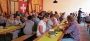 Besucher beim letztjährigen Familiengottesdienst. (Bild: Therese Schurter)