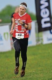 Der Eschliker Orientierungsläufer Daniel Hubmann läuft in Richtung EM-Titelgewinn. (Bild: EQ Images/Rolf Gemperle)