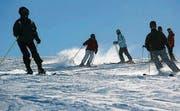 44 Saisonkarten verkaufte der Skilift Vögelinsegg im Dezember. (Symbolbild: Hannes Thalmann)