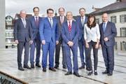 Seit einem Jahr arbeitet der St.Galler Regierungsrat in seiner aktuellen Zusammensetzung. (Bild: PD)