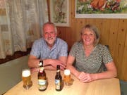 Katharina und Roland Ulmann werden die neuen Gastgeber im Berggasthaus Alp Rohr der Ortsgemeinde Sennwald. (Bild: PD)