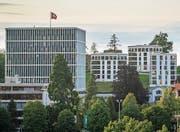 Am Bundesverwaltungsgericht in St. Gallen ist ein Viertel der Mitarbeitenden französischsprachig. (Bild: Benjamin Manser)