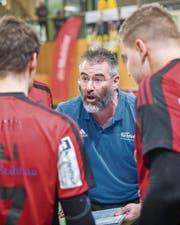 Rolf Erdin ist bis Ende Saison Trainer der Gossauer. (Bild: Urs Bucher)