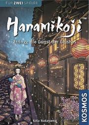 Hanamikoji von Kota Nakayama, Kosmos Verlag, 2 Spieler ab 10 Jahren, Dauer: 20 Minuten.