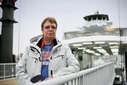 War jahrelang von der Euregia-Fähre besessen: Jutta W. aus Friedrichshafen. (Bild: Reto Martin)