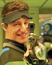 Christoph Dürr geniesst in Magglingen Schule und Training im Einklang. (Bild: Robert Kucera)