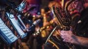 Thomas Ganschs Allstar-Big-Band an der letztjährigen Ausgabe des «Generations». (Bild: Andrea Stalder (7. Oktober 2016))