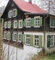 Das Haus «Zwirneli» am Eichenbach verkörpert einzigartige Industrieromantik am Oberlauf des Eichenbachs in Walzenhausen. (Bild: pe)