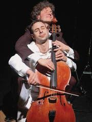 Zum Dahinschmelzen: Alain Schudel und Daniel Schaerer spielten das Ave Maria vierhändig. (Bild: bo.)