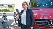 Vizepräsidentin Renata Franciello hofft auf Bewerbungen für das Präsidium der Primarschulgemeinde Regio Märwil. (Bild: Mario Testa)