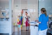 OaS Reportage aus der Neonatologie des Kinderspital St. Gallen @ Urs Bucher/Tagblatt (Bild: Urs Bucher (Urs Bucher))