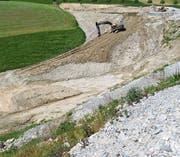 Kaien in Rehetobel ist eine der wenigen grossen Deponien des Kantons Appenzell Ausserrhoden. (Bild: PD)
