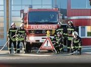 Die Feuerwehr Sirnach bringt den Besucherinnen und Besuchern ihre Arbeit mit verschiedenen Vorführungen näher. (Bild: PD)