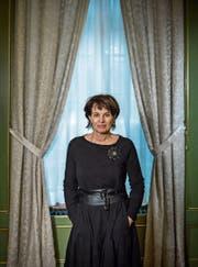 «Glanz & Gloria» läuft bei Bundesrätin Doris Leuthard (54) nicht im TV. (Bild: Pius Amrein (Bern, 22. Januar 2018))