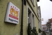 Das Restaurant Toggenburg in Rorschach ist während der Fasnachtszeit ein beliebter Spielort für Guggen aus der Region. (Bild: Martin Rechsteiner)