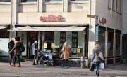 Seit 1999 betreibt Ex Libris das Geschäft am Marktplatz 4. Im Sommer wird es geschlossen. (Bild: Christoph Renn)