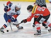 Dominique Rüegg aus Rossrüti steuerte einen Assist zum Führungstreffer der Schweizer Frauen-Hockey-Nati bei. (Bild: Eddy Risch/Keystone)