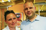 Die Messeveranstalter Bettina Meile und Pascal Möller. (Bild: Mathias Frei)
