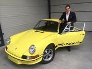 Oldtimer-Fan Frank Erhard und der gefälsche Porsche. (Bild: PD)