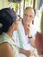 Pater Josef Chepe Schönenberger erhält für seine Menschenrechtsarbeit in Kolumbien den Jurt-Preis. (Bild: zVg.)
