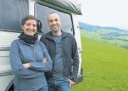 Kathrin und Ueli Wirt wuchsen in Herisau auf – nun wollen sie Afrika und noch viel mehr während Monaten per Geländewagen erfahren. (Bild: Ueli Abt)