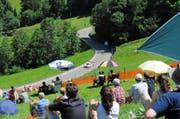 Der Verband Auto Sport Schweiz prüft ein Disziplinarverfahren gegen das Bergrennen Hemberg. (Bild: Michael Hug)