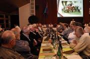 Die Mitglieder an der Hauptversammlung. (Bild: Res Lerch)