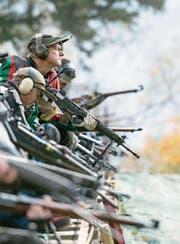 Auch der Verband der Sportschützen sperrt sich gegen die Änderung des Waffenrechts. (Bild: Urs Flüeler/Keystone)