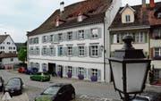 Das städtische Alters- und Pflegeheim Bürgerhof am Hirschenplatz in der Bischofszeller Altstadt. (Bild: Georg Stelzner)