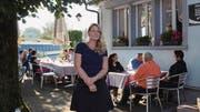 Als Schulratspräsidentin und somit auch in den Gemeinderat gewählt: Laila Roduner-Wohlwend freut sich über ihre Wahl. (Bild: Armando Bianco)