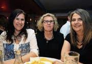 Jacqueline Niggli (55) aus St. Gallen, Yvonne Müller (66) aus Eschlikon und Erika Thönig (54) aus St. Gallen. (Bilder: Chris Marty)
