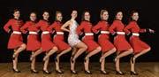 Die Tänzerinnen zeigen ihre Beine. (Bild: PD)