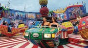 Fahrt ins Glück: Der Lunapark bescherte den Besuchern vergnügliche Momente.