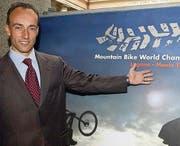 Rocco Cattaneo: Der einstige Radprofi hat zwei Radweltmeisterschaften im Tessin organisiert. (Bild: ky/Karl Mathis)