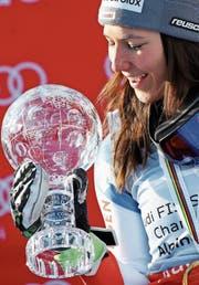 Wendy Holdener, einer von vielen Schweizer Lichtblicken der Saison. (Bild: Marco Trovati/AP (Åre, 15. März 2018))
