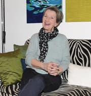 Greta Gantenbein in ihrem neuen Zuhause im Kanton Aargau. (Bilder: Beat Lanzendorfer)