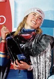 Mikaela Shiffrin dominiert den Skirennsport der Frauen. (Bild: Giovanni Auletta/AP)