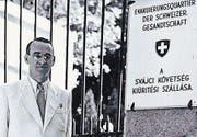 Der Appenzeller Carl Lutz hat im Zweiten Weltkrieg über 60 000 Juden gerettet. (Bild: PD)