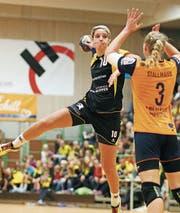 Katharina Winger warf ihre Tore zuletzt für die Schwaben Hornets in der deutschen Bundesliga. (Bild: PD)