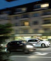 Gerade in Agglomerationen und Städten ist der Strassenlärm ein Problem. (Bild: Gaëtan Bally/Keystone (Zürich, 3. März 2017))