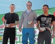 Der Verein gewann die Teamwertung mit Michael Looser, Linus Mettler und Adolf Alpiger. (Bild: pd)