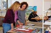 Lenka Roth (rechts) ist froh über die langfristige Standortlösung in Kreuzlingen. (Bild: Kurt Peter)