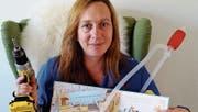 Regula Studer macht die Kinderbuchlesung zum Erlebnis. (Bild: PD)