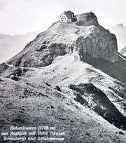 Dunant-Entdecker Georg Baumberger wanderte viel im Alpstein. Sein Lieblingsziel war der Hohe Kasten. (Bild: pe)