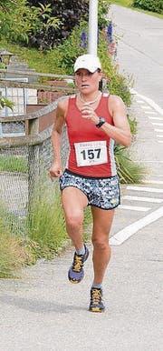 Tagesbeste und den Titel verteidigt: Nicole Lohri aus Frauenfeld.