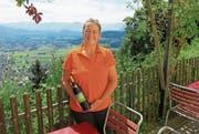Seit 25 Jahren wird das traditionsreiche Aussichtsrestaurant Meldegg in Walzenhausen von Wirtin Christiane Niederer geführt. (Bild: PD)