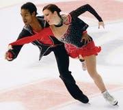 Lange ist es her, seit Leonie Krail und Oscar Peter das letzte Mal zusammen an einem Wettkampf über das Eis tanzten. (Archivbild: ky/Karl Mathis)