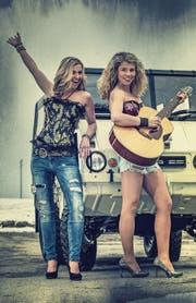 Lucky und Martina Enderlin präsentieren zwölf Songs auf der neuen CD. (Bild: PD)
