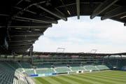 Es geht weiter mit dem FC St.Gallen und der AFG Arena - Geldgeber springen ein. (Bild: Urs Jaudas)
